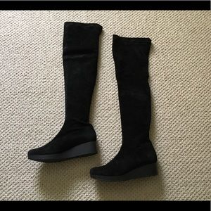 ROBERT CLERGERIE VATUF STRETCH OVER THE KNEE BOOT